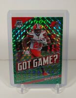 2020 Mosaic Football Nick Chubb Got Game Green Prizm