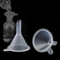 Neu 10 Stück Kunststoff Mini-Trichter für Füllungs Parfüm Proben kleine T5A9