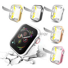 Full Body TPU Protective Screen Cover Case For Apple Watch Series 6 5 4 44/40mm
