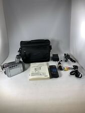 Canon Zr85 MiniDv Video Camcorder Bundle, w/ Battery & Charger + Extras *Read*