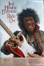 Jimi Hendrix Live In Bbc Radio One 1988 Vintage Music Record Store Promo Poster