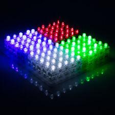 100Pcs Finger Light Up Ring Laser Led Rave Dance Party Favors Glow Beams Hot