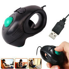 Wired USB Mouse Finger Handheld 4D Mini Trackball Mouse PC Laptop Computer Mice