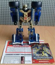 Transformers Energon Combat Class Prowl Figure Plus Instructions And Stat Card