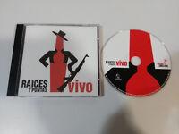 RAICES Y PUNTAS VIVO 2005 KOMANDO CHICLANA - CD
