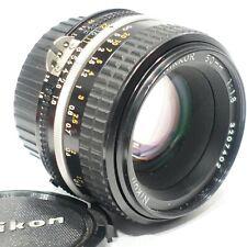 Nikon Nikkor 50mm 1:1.8 Ai-S lens fits DSLR camera Close focus AIS version FX/DX