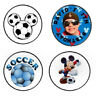 108 Mickey Mouse Soccer Hershey Kiss Labels Stickers Party Favors Personalized