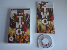 Army Of Two The 40th Day Sony PSP Game Complete Tested PAL UK