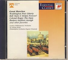 Boult, London PO; Ormandy Philadelphia Orchestra: Great Marches (Sony) Like New