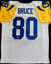 Isaac Bruce Autographed Signed St. Louis Rams Jersey HOF Greatest Show GTSM COA