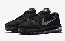 533220086 Nike Air Max 2017 Women s Running Shoes 849560 001 Black White Anthracite  NIB