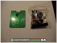 Pi1541 Cycle exact Floppy emulator for Commodore 64 with 2 IEC connectors KIT