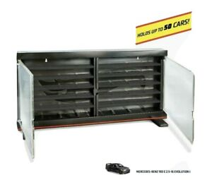 Hot Wheels Display Case with Mercedes Benz 190 E 2.5 Evolution
