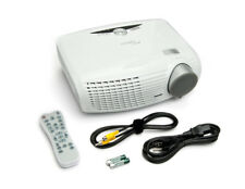 "Optoma HD20 1080p DLP Home Theater Projector, 1700 Lumens, 2 HDMI, 300"" Screen"