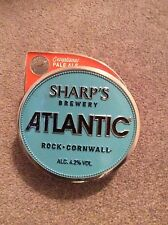 "Metal Beer Pump Clip ""Sharps Atlantic"" Home Bar Pub Mancave"