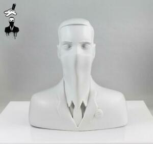 """ABCNT - """"ABCNT"""" - Ivory White Resin Sculpture Art Limited Edition X/25 OBEY KAWS"""