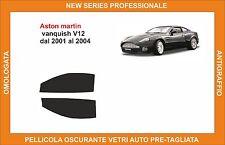 pellicola oscurante vetri aston martin vanquish v12 dal 2001-2004 kit anteriore