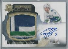 2011-12 UPPER DECK THE CUP LIMITED LOGOS CODY HODGSON AUTO 3 COLOR PATCH 24/50!!