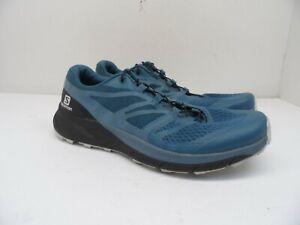 Salomon Women's Sense Ride 2 Trail Running Shoes Mallard Blue/Blue Stone 7.5M