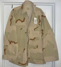 Rare New with Tag 1990s Desert Storm Camo Army Large Long Jacket Shirt