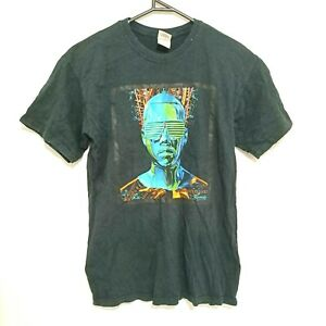 Vintage Kanye West Glow In The Dark Tour T-Shirt Mens Size M 2008 Rap Tee