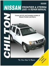 Automotive Repair Manual for Nissan Frontier and Xterra 2005-'14 (52320)