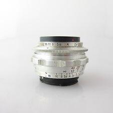 Für Exa Exakta E. Ludwig Meritar 2.9/50 Objektiv / prime lens