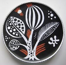 Mid Century CERAMIC FAIENCE XLG PLATTER FRENCH? MADOURA? MANNER OF PICASSO/ MIRO