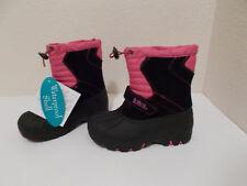 NEW GIRL TOTES JOJO WATERPROOF PINK BLACK WINTER SNOW BOOTS SZ 6 TODDLER $49.99