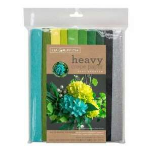 Lia Griffith - Heavy Crepe Paper 10 pack - Botanical Garden