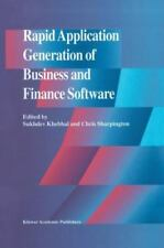 Rapid Application Generation of Business and Finance Software-ExLibrary