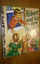 Robert and his New Friends Corinne Malvern Sydney Edition Little Golden Book