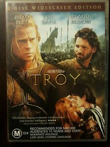 TROY  DVD  Brad Pitt,  Erica Bana,  Orlando Bloom 2-disc R4