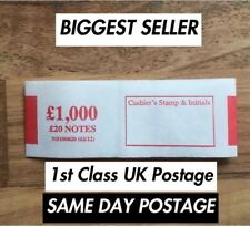 £20 note money bands money currency straps (select quantity) - 100% satisfaction
