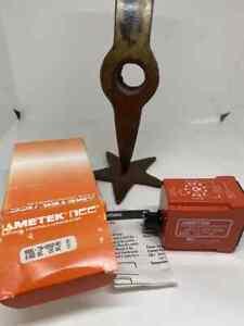 AMETEK NCC T3K-00600-461 Relay Timer DPDT Off-Delay 0.6-60sec :11pin:120VAC  NEW
