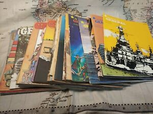 Large Lot Of 25 Vintage Avalon Hill General Magazines Tactical Games Strategy