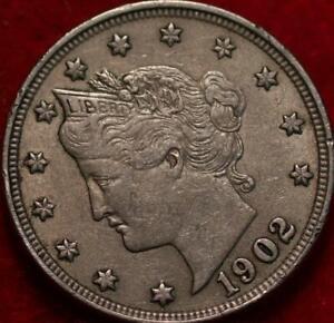1902 Philadelphia Mint Liberty Nickel