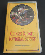 Chinese KungFu National Survery NV190 Kung Fu VHS rare oop 1984 survey