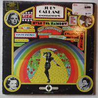 JUDY GARLAND CONCERT – TWO 12 INCH 33 RPM VINYL LONG PLAY RECORDS– TROPHY 7-2145