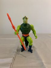 1983 He-man Masters Of The Universe Whiplash Figure Complete