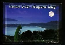 Recipe postcard US Travel Island Herb Roast Chicken St. Thomas VI Magens Bay