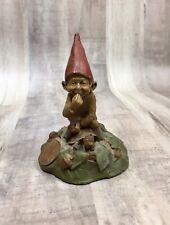 Vintage Tom Clark Gnome Eddie Riding Turtle 51 Resin Figure 1984 Statue