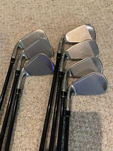 TaylorMade M6 Iron Set 5-PW-AW , Regular Graphite Shafts