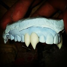 Dracula Fangs Custom to Fit Your Teeth. Not One size Fits all. Movie Quality