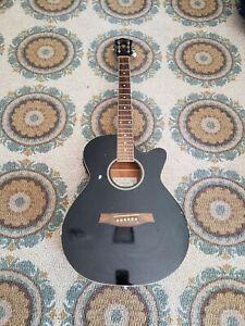 Ibanez AEG5EJP-BK-2Y-02 Acoustic Electric Guitar