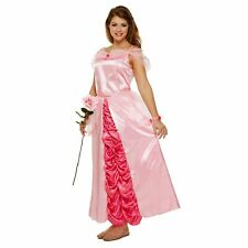ADULT PINK SLEEPING PRINCESS DRESS UP OUTFIT ladies womens fancy dress costume