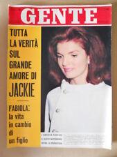 GENTE n°10 1968 Jacqueline Kennedy Brigitte Bardot Omar Sharif [G767]