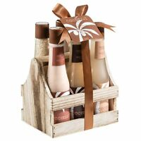 Bath, Body, and Spa Gift Set for Women, in Tropical Milky Coconut Fragrance