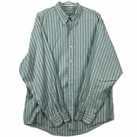 Eddie Bauer Mens Long Sleeve Button Down Long Sleeve Shirt Striped Size Med