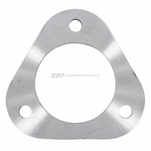 "ZZPerformance Stainless Steel 3 Bolt Rear LNF 3"" Exhaust Downpipe Flange HHR SS"